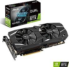 ASUS GeForce RTX 2060 Advanced Overclocked 6G GDDR6 Dual-Fan Edition VR Ready HDMI DP 1.4 DVI Graphics Card (DUAL-RTX-2060...