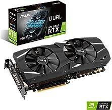 ASUS GeForce RTX 2060 Advanced Overclocked 6G GDDR6 Dual-Fan Edition VR Ready HDMI DP 1.4 DVI Graphics Card (DUAL-RTX-2060-A6G)