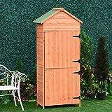 Zoom IMG-1 outsunny box casetta ripostiglio porta