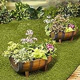 Half Barrel Garden...image