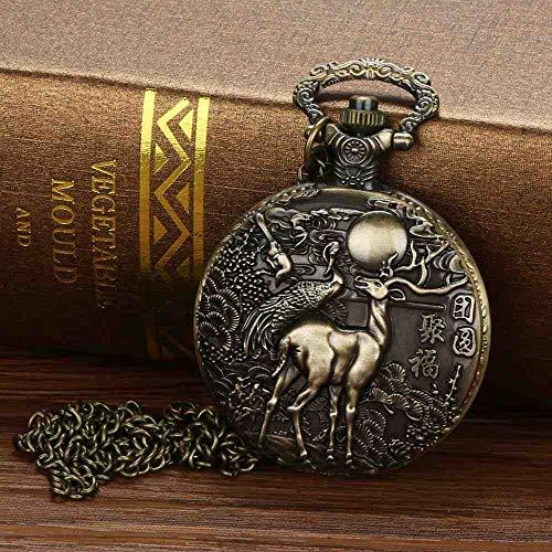 DSNGZ Reloj Pulsera Vintage Charm Watch Unisex Moda