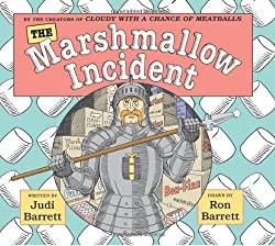 The Marshmallow Incident: A perfect book to read aloud to talk about those things that divide people- in this case it's about right handed or left handed!