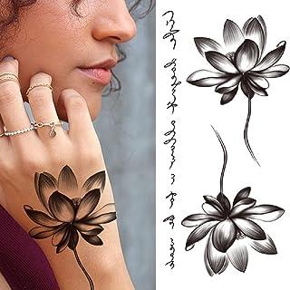 Tijdelijke Tatoeages 3 Vellen Tattoo Sticker Voor Mannen Vrouwen Kinderen Tijger Wolf Schedel Tijdelijke Tattoo Nep Henna ...