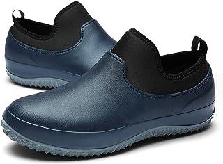 Stivali da Pioggia in Gomma Neoprene Impermeabile Slip in The Garden Scarpe da Passeggio Scarpe da Spiaggia Leggere.