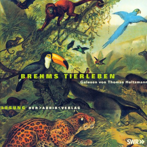 Brehms Tierleben audiobook cover art