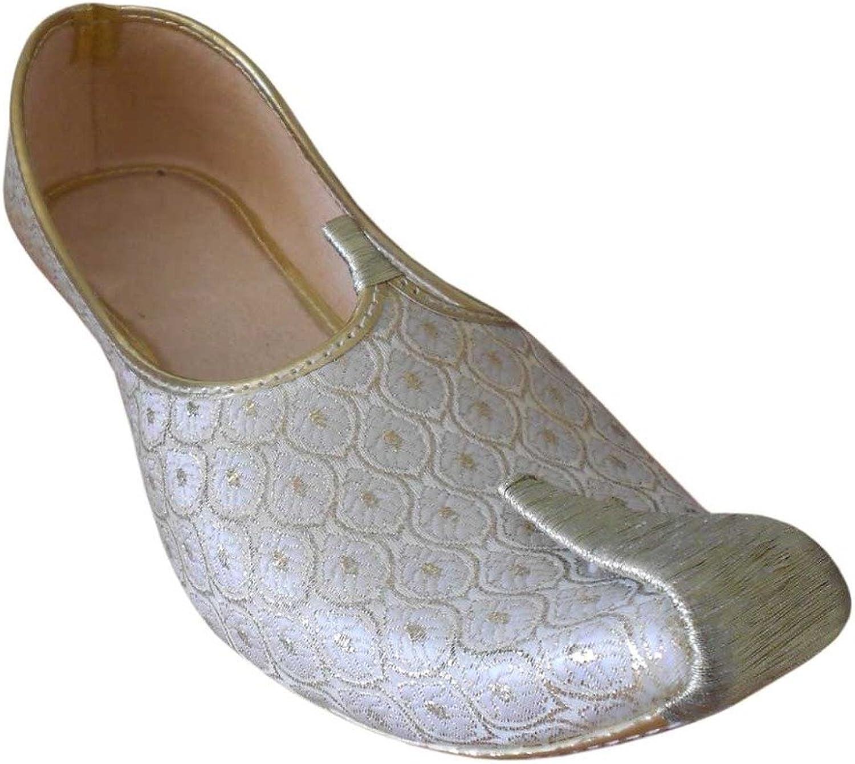 Kalra Creations Men's Traditional Indian Mojari Ethnic shoes