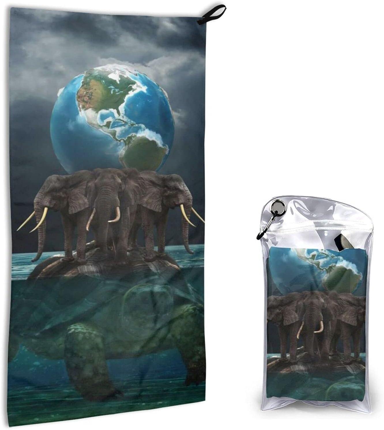 Jeezshop Quick 1 year warranty Selling Dry Microfiber Turtle Earth Super Elephant Towel