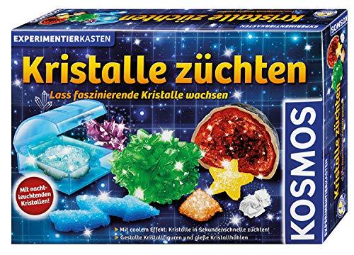 Kristalle züchten: Experimentierkasten