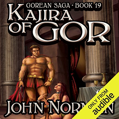 Kajira of Gor     Gorean Saga, Book 19              By:                                                                                                                                 John Norman                               Narrated by:                                                                                                                                 Imelda Pot                      Length: 18 hrs and 13 mins     10 ratings     Overall 3.7
