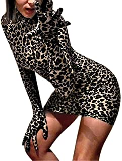 Amazon.com  Animal Print - Club   Night Out   Dresses  Clothing ... 02c2d1389
