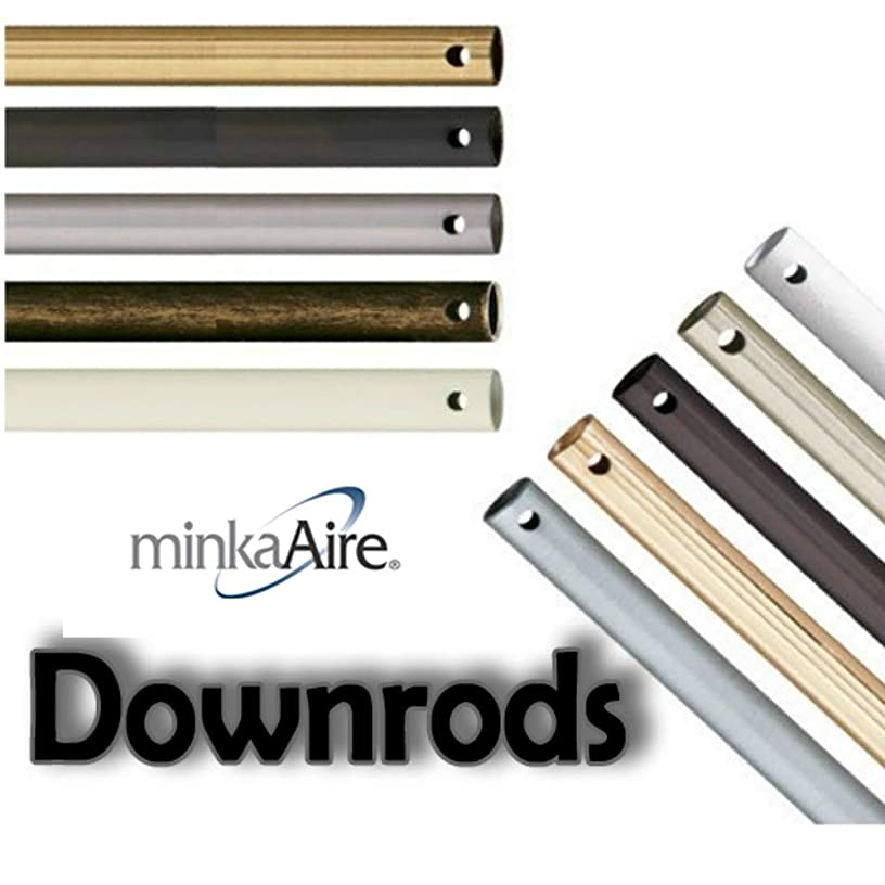 Minka Aire DR524-BS Accessory - Ceiling Fan Downrod, Downrod Lengths: 24