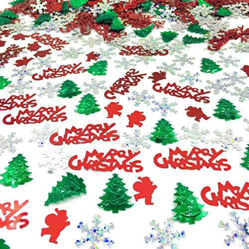Christmas Confetti Glitter Xmas Holiday Sequins Sprinkles Part Party Table Decoration Supplies or DIY