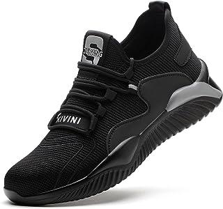 R-Win Chaussures de sécurité respirantes pour homme et femme avec embout en acier - Légères - Chaussures de sécurité pour ...