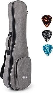 32 Inch Guitar Ukulele Case Gig Bag For Baritone Ukelele 6 Strings Guitarlele Instrument With 3 Uke Picks