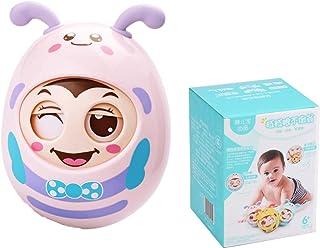 Baby holding tumbler toys 6-12 months newborn rattle boys and girls cartoon Tumbler