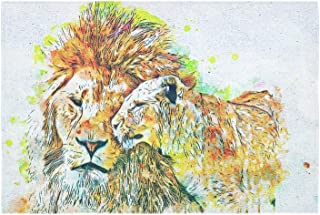 Best lioness with flowers Reviews