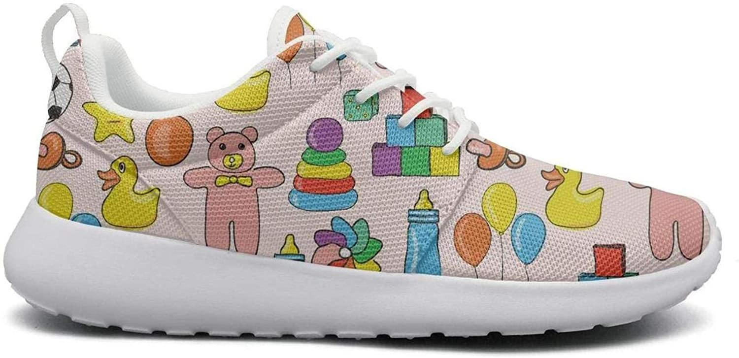 Ipdterty Wear-Resistant Walking Sneaker Toys Football with car Duck Attractive Women Casual Running shoes