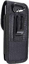 DFV mobile - Belt Case Cover Nylon with Metal Clip Business for Alcatel Pixi 4 (5) - Black