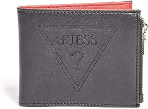 GUESS Factory Men's Logo Embossed Wallet