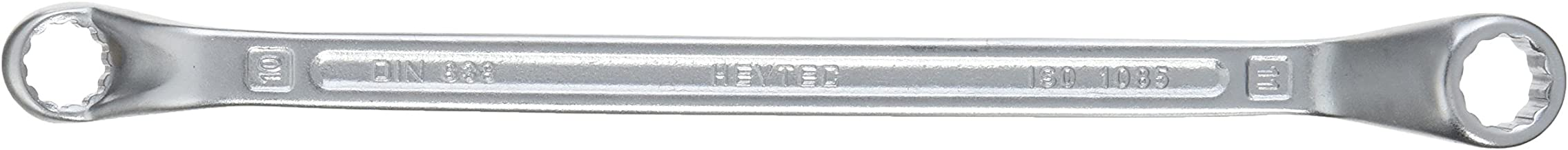 Heytec Double Ended Ring Wrench Deep Offset 10X11mm - 50805101180