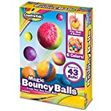 Make Your Own Bouncy Balls – Unique Arts and Crafts Set Comes w/ All the Supplies Needed for Kids to Create Their Very Own Mini Magic Power Balls 25 Bags Of Powder Crystals – Bright, Colorful Supplies Include Every Neon Shade of the Rainbow for Artis...