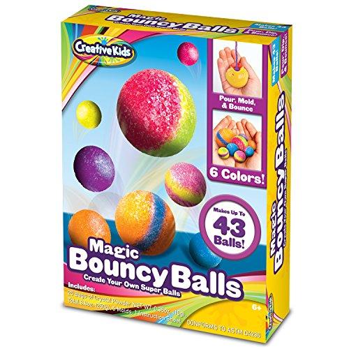 Creative Kids DIY Magic Bouncy Balls - Create Your Own Crystal Powder Balls