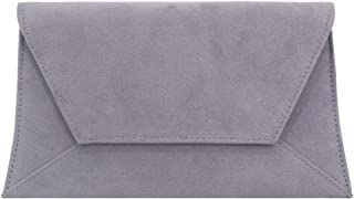 Wiwsi Womens Envelope Evening Clutch Bag Handbag Purse Vintage Fashion Designer