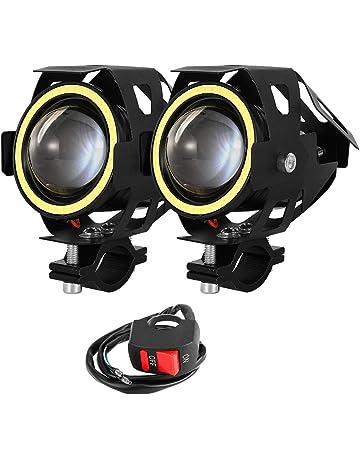 Moto Faro 1pc Luce for il commercio allingrosso di goccia di trasporto Moto H4 18W LED 3 COB Moto lampadina del faro 2000LM 6000K Hi//Lo fascio
