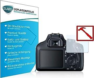 Slabo 3 x Lámina de Vidrio Premium para Canon EOS 4000D Lámina Protectora Protector de Pantalla Templado Tempered Glass Claro 9H