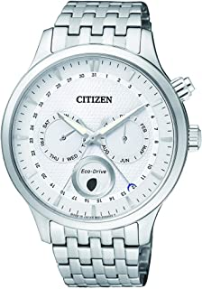 CITIZEN Mens Solar Powered Watch, Analog Display and Stainless Steel Strap AP1050-56A