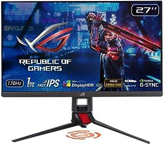 ASUSTek HDRゲーミングモニター ROG STRIX XG279Q 27インチ IPS 170Hz 1ms G-SYNC Compatible DisplayHDR400 ELMB SYNC
