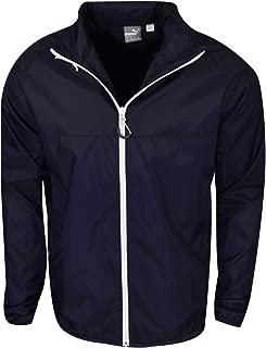 puma golf track jacket white