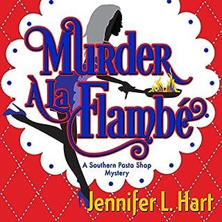 Murder á la Flambé audiobook cover art