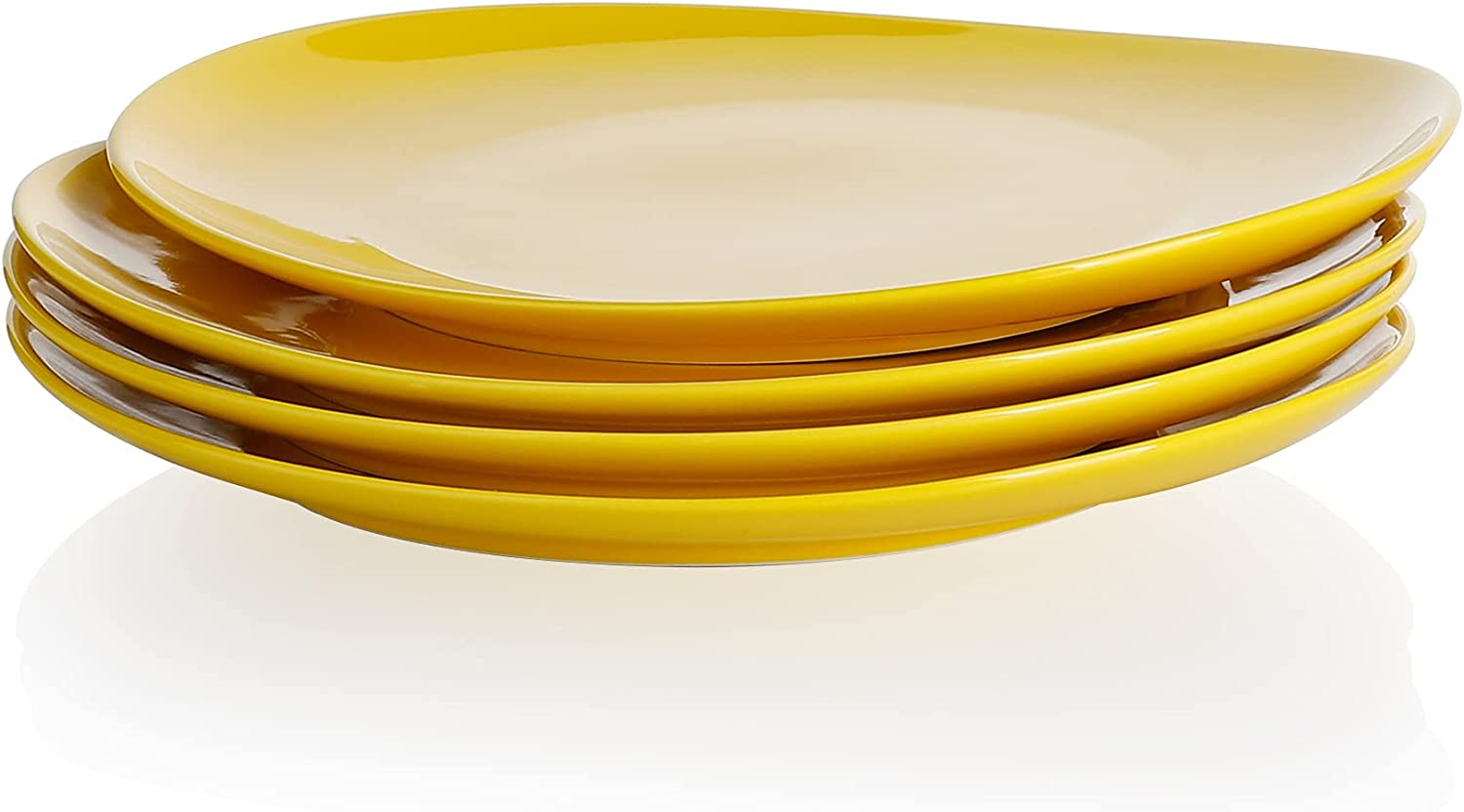 Sweese 150.405 Porcelain Dinner Plates - Max 69% OFF Yel of 4 Inch Set Ranking TOP12 11