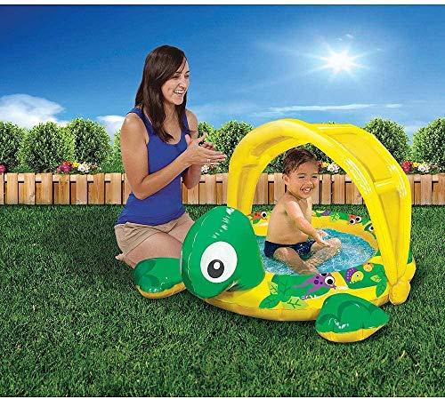 Banzai Jr. 84020 Skuggig tid sköldpadda pool, flerfärgad