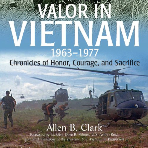 Valor in Vietnam audiobook cover art