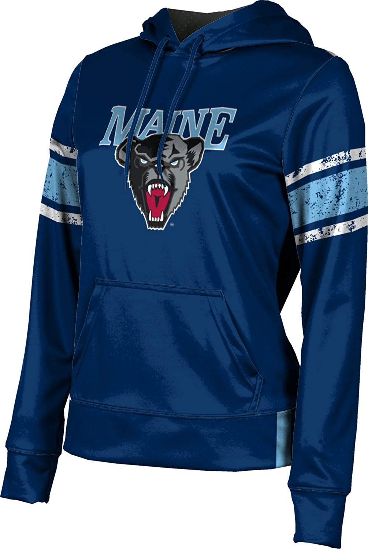 ProSphere University of Maine Girls' Pullover Hoodie, School Spirit Sweatshirt (End Zone)