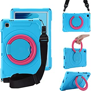 """Kids Case for Samsung Galaxy Tab A7 10.4"""" 2020, CASZONE [Screen Protector] Ultra Lightweight 360° Rotating Stand/Handle/Sh..."""