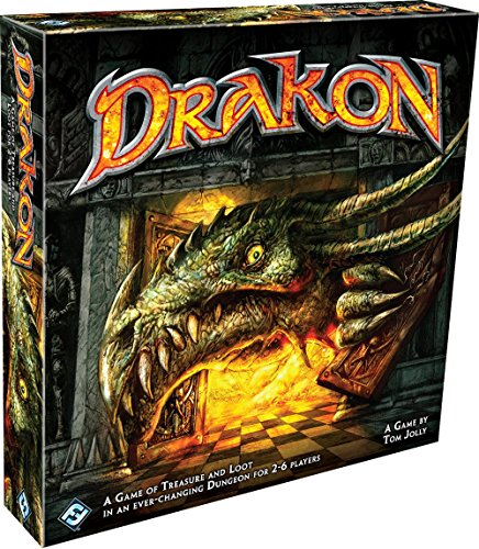 Fantasy Flight Games FFGTJ09 Drakon, Mehrfarbig