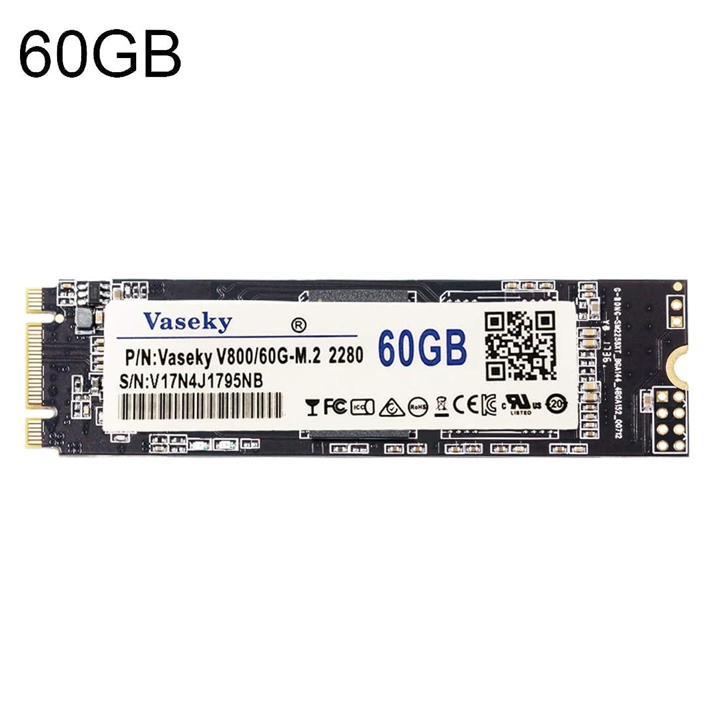 不純助言偽装するWTYD コンピュータアクセサリー V800 60GB NGFF/M.2 2280インタフェースソリッドステートドライブラップトップ用ハードドライブ コンピュータに使われる