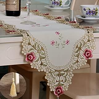 Global Brands Online Corredor de la Tabla Cubierta del Escritorio de la Flor de la Boda con la decoración de la Borla de la Fiesta de cumpleaños