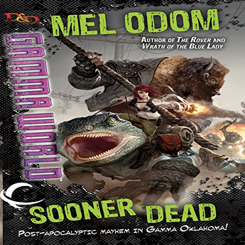 Sooner Dead audiobook cover art