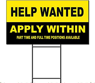 Best help wanted apply within sign Reviews
