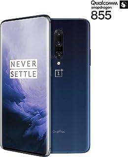 Oneplus 7 Pro Smartphone (Nebula Blue) 256GBの内部メモリ、12GBのRAM、GM1910 ワープチャージ、星雲ブルー