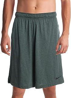 Mens Running Fitness Shorts Green XL