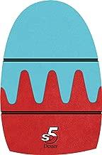 Dexter The 9 Sole Average Slide 5 Sawtooth Bowling Shoe, Brown, Medium (Men's 9-10.5, Women's 11)