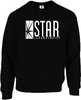 Graphic Impact Inspired Star Laboratories Sweatshirt Jumper Gift S.T.A.R Labs Mens Women
