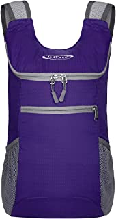 Lightweight Packable Shoulder Backpack Hiking Daypacks Small Casual Foldable Outdoor Bag 11L