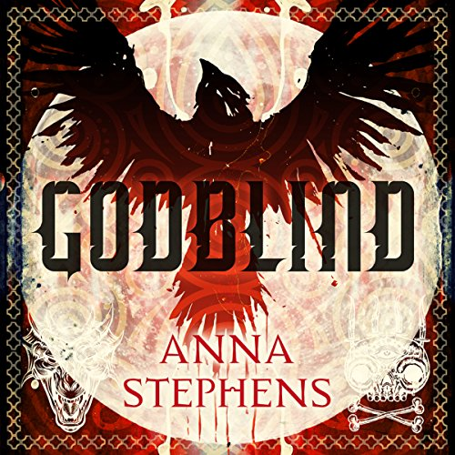 Godblind audiobook cover art