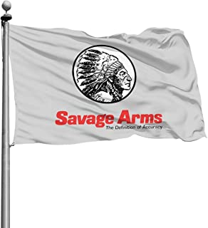 Savage Arm Logo 4x6 Ft Home Flags, Decor Garden Flags Best for Party Yard Indoor and Outdoor